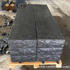 Angola Black Granite Stairs